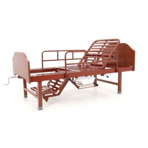 Медицинская кровать G-1  в комплекте с ортопедическим матрасом