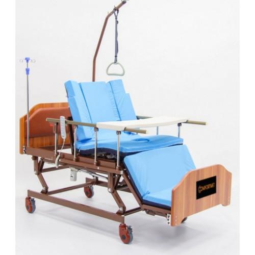 """МЕТ REALTA Кровать-кресло с """"ушками"""" - для сна в положении сидя, с регулировкой высоты, с переворотом и туалетом"""