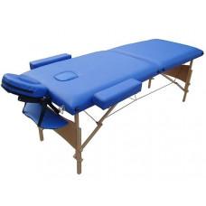 MET Coinfy STANDART 02 Массажный стол, деревянный, синий
