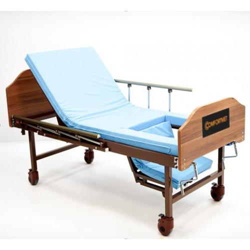 Недорогая высокая медицинская кровать MET KARDO LIGHT при переломе шейки бедра