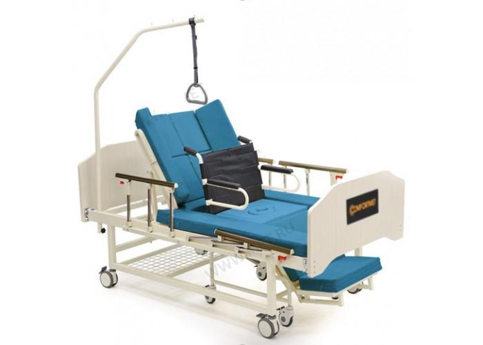 Механическая функциональная кровать MET INTEGRA с интегрированным креслом-каталкой