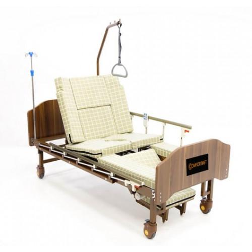 Кровать MET EMET функциональная медицинская с электроприводом, с положением кардиокресло, с туалетом