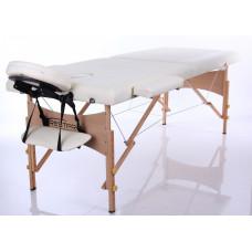 MET Coinfy STANDART 02 Массажный стол, деревянный, кремовый