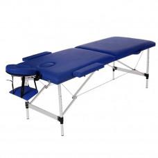 MET Coinfy STANDART 02 Стол массажный СУПЕРЛЕГКИЙ, алюминий, синий